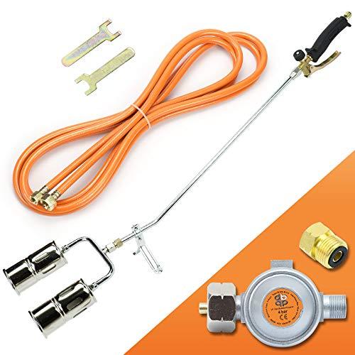 Gasbrenner 110KW Dachbrenner Brenner mit 2-Düse Mitteldruckregler SN0285R