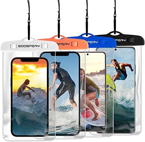 [4-Pack] Goospery Universal Waterproof Phone...