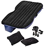 ASJ Car Travel Inflatable Mattress Inflatable Bed Camping Universal (Grey)