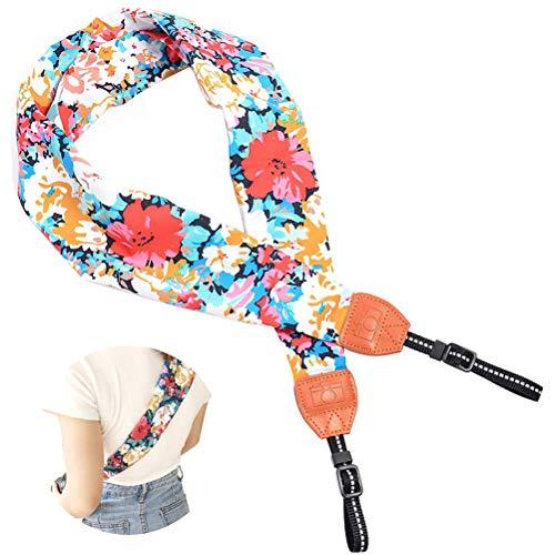 Cinturino Per Fotocamera Vintage - ZSWQ Tracolla per fotocamera, tracolla stile sciarpa multifunzione, ideali per fotografi professionisti in attività all aperto,1PCS