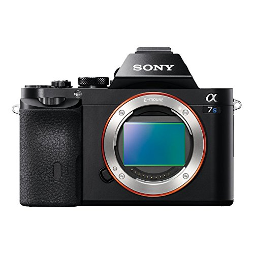 Sony Alpha 7S E-Mount Vollformat Digitalkamera ILCE-7S (12,2 Megapixel, 7,6cm (3 Zoll) LCD Display, Full HD, Unkomprimierter Output via HDMI (4K/Full HD) nur Gehäuse) schwarz