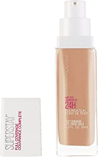 Maybelline New York Super Stay Full Coverage Liquid Foundation Makeup, Sun Beige, 1 fl. oz.