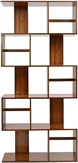 MEIDUO Bambou S Forme Unité De Stockage Coffre Bibliothèque Étagère Armoire Cabinet Mobilier De Bureau À Domicile (taille ...