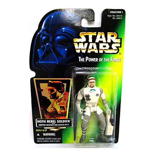 Star Wars Power of The Force Green Card Hoth Rebel Soldier Action Figure