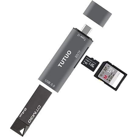 Tutuo Usb C Card Reader Sd Micro Sd Card Reader Type C Elektronik
