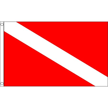 Display Banner Sign Large 5 x 3 FT Scuba Diving Flag