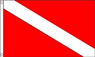 علم الغوص أريزونا علم سكوبا 3 بوصة × 5 بوصة - أعلام الغوص تحت الماء 90 × 150 سم - لافتة 3 × 5 أقدام