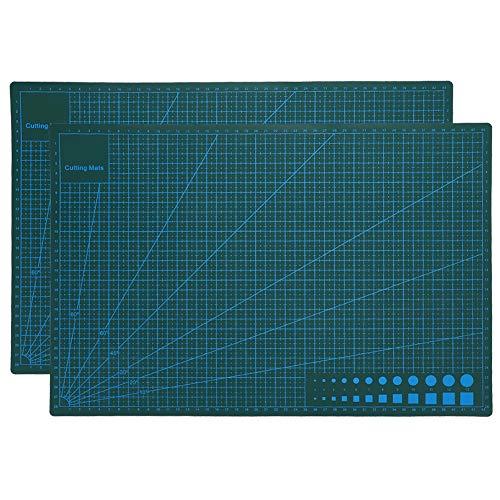 Tabla de cortar artesanal, práctica alfombrilla de corte conveniente resistente al desgaste para oficina para cortar papel para escritorio para el hogar de los estudiantes