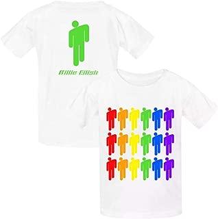 Billie Eilish Youth Cotton T-Shirts Unisex Child Short Sleeve Tee Shirt