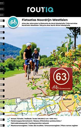 Routiq Fietsatlas Noordrijn-Westfalen: Fahrrad Knotenpunkten Atlas Nordrhein-Westfalen