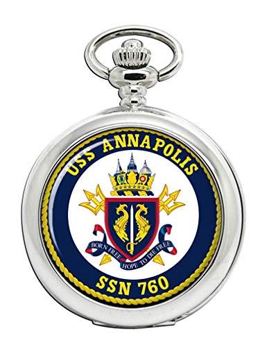 USS Anapolis (SSN-760) Reloj de Bolsillo