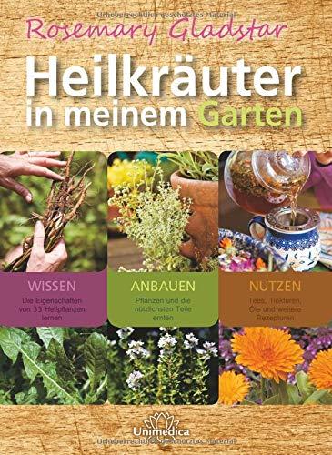 Heilkräuter in meinem Garten: 33 wichtige Heilkräuter selbst anpflanzen, ernten und verwenden