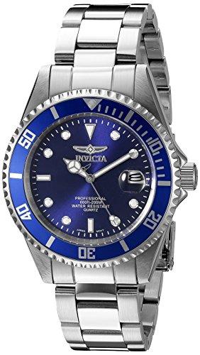 Invicta Men's 9204OB Pro Diver Analog Display Quartz Silver...