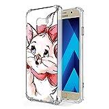 Zhuofan Plus Coque Samsung Galaxy A5 2017, Silicone Transparente avec Motif Design...