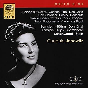 Wiener Staatsoper Live: Gundula Janowitz (Live)