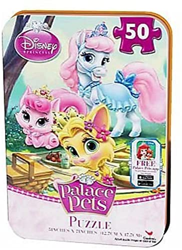 Disney Princess Palace Pets 50 Piece Puzzle In Travel Tin by Disney