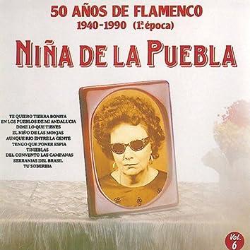 50 Años de Flamenco, Vol. 6: 1940-1990 (1ª Epoca)