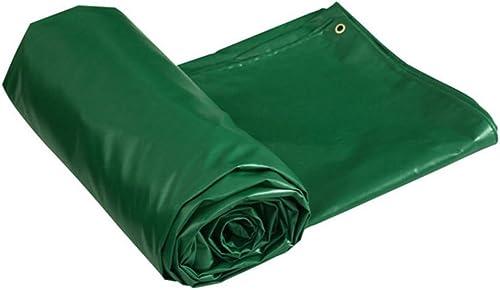 Waterproof tarpaulin NAN Tissu de Pluie épaissie Toile bache Toile bache Isolation de l'ombre au Soleil Bache Anti-vieillissement 0.4MM - 450g   M2 (Taille   4  3m)