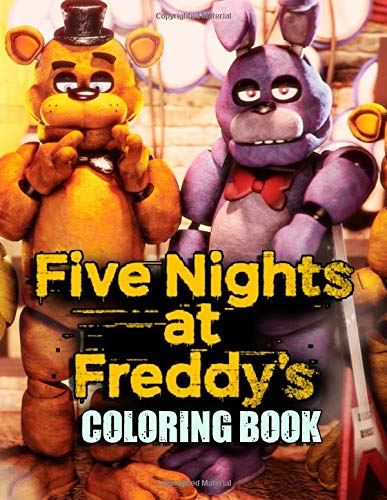 Five Nights At Freddy's Coloring Book: FNAF Coloring Book for Kids and Adults with Fun, Easy, and Relaxing Coloring Pages