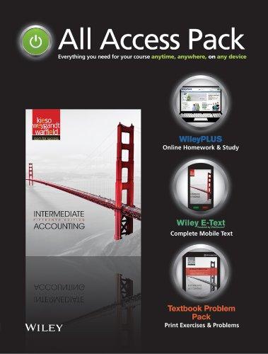 Intermediate Accounting 15E: All Access Pack