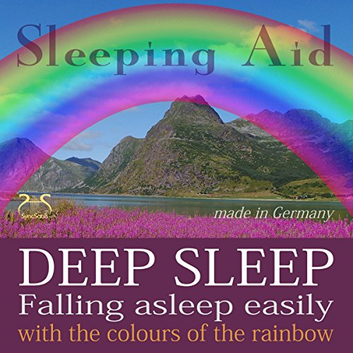 Falling asleep easily & get deep sleep with the colours of the rainbow cover art