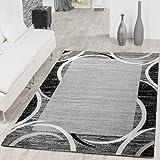 alfombra gris salon 160x220