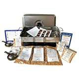 Down the Cove Complete Hot Smoking Kit - Stainless Steel Smoking Oven, Variety of Wood Chips & Instructions