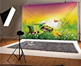 Size: 10x8ft/118in weight x 100in height (3x 2.5m). Item will send by folded,easy to carry and store. Material: Made of high-quality Thin Vinyl. Compare to other materials, pictorial cloth is bright in color, durable, light weight and easy handling. ...
