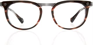 Kingsley Rowe Carter: Unisex, Round, Classic, Retro, Nerd, Large, Optical Glasses Frames