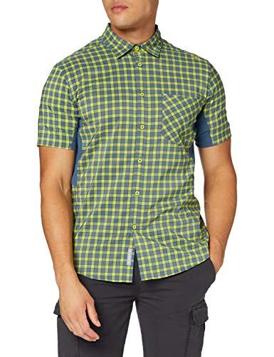 CMP Slim Fit Schnell trocknendes Coolmax-Hemd Camisa, Hombre, Energy Plutone, 52