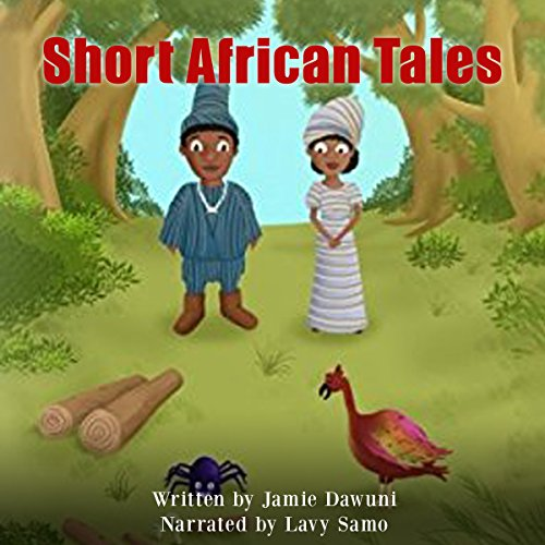 Short African Tales audiobook cover art
