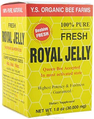 100% Fresh Royal Jelly 30,000 mg YS Eco Bee Farms 1.0 oz Liquid