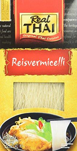 Real Thai Vermicelli Reis, 3er Pack (3 x 375 g)