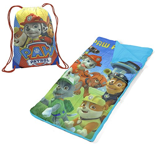Nickelodeon Paw Patrol Drawstring Bag with Sleeping Sack