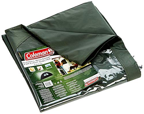 Coleman Side Panel for Event Shelter XL and Event Shelter Pro XL, 4.5 x 4.5 m(15 x 15 ft), Green Gazebo Side Panel, Sun Protection, Water Resistant