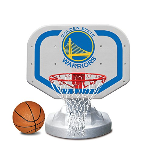 Poolmaster 72909 Golden State Warriors NBA USA Competition-Style Poolside Basketball Game