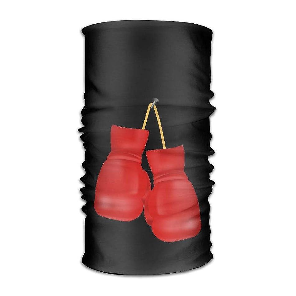 IRON1974 Red Boxing Gloves Unisex Sport Scarf Headbands Bandana Outdoor Sweatband Headwear