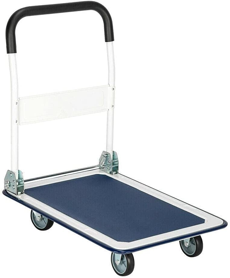 Cart 330lbs Dolly Memphis Mall Folding Challenge the lowest price of Japan Foldable Push Moving Hand Tr Warehouse