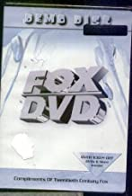 FOX DVD - DEMO DISC - Excerpts from Ice Age, Planet of Apes, Moulin Rouge , the Hustler, Simpsons, M.A.S.H.< Behind Enemy Lines, X-Files, 54 & more