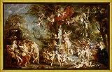 Rahmen Peter Paul Rubens Giclée Leinwand Prints Gemälde Poster Reproduktion(Das Fest der Venus)