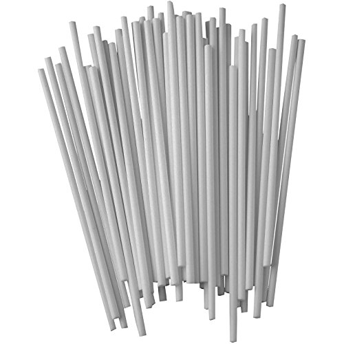 Best Deals! Zenker 7712Patisserie Cake Pop Sticks (Set of 48), White, 5.31