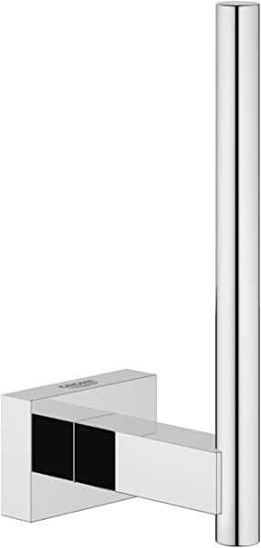 Essentials Cube Spare Toilet Paper Holder