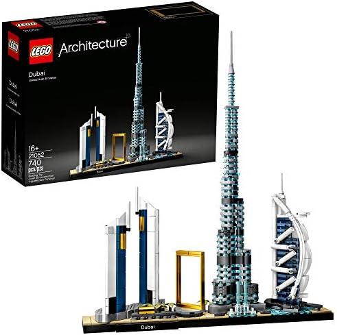 LEGO Architecture Skylines Dubai 21052 Building Kit Collectible Architecture Building Set for product image