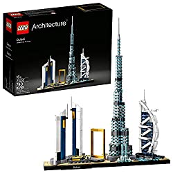 powerful Lego Architectural Skyline: 21052 Dubai Building Set, Collector Building Set …