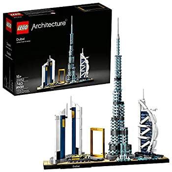 LEGO Architecture Skylines  Dubai 21052 Building Kit Collectible Architecture Building Set for Adults  740 Pieces