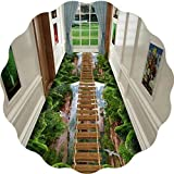 3D-Druck Flur Runner Teppich Anti-Rutsch-Hall-Passage Runners Stain Resistant Teppich for Zuhause Küche Flur Aisle Eingang (Farbe: A, Größe: 0.9x5m), Größe: 0.8x5m, Farbe: A Hall Rugs