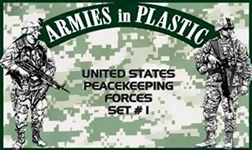 Armies in Plastic United States Peacekeeping Force Set  1 Offerot By Classic Toy Soldiers, Inc by  Classic Toy Soldiers, Inc