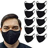 1Above_10 PCS Anti-dust Mouth Face   Cotton mask   Protect Cover   2-Layer Unisex Reusable Fashionable Washable Cover (10)