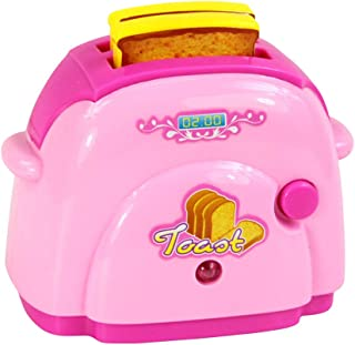 Toyvian 子供のための電池なしで小型シミュレーションのパンメーカーの小さい電気器具の台所パン屋機械おもちゃ子供(ランダムな色)