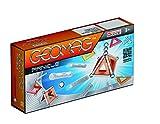 Geomag-450, Classic Panels, Juego de construcción magnético, 22 Piezas, Multicolor (450)